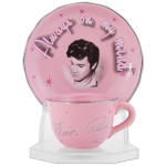 Elvis On My Mind Cup & Saucer Set