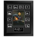 Elvis '68 Special Mini Montage Filmstrip Framed Presentation