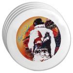 Elvis Dragon Coasters Set of 4