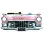 Elvis Pink Cadillac 3D Wall Shelf