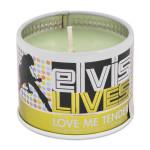 Elvis Love Me Tender Scented 4oz Candle