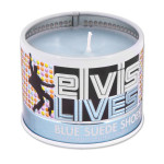 Elvis Blue Suede Shoes Scented 4oz Candle