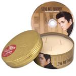 Elvis Love Me Tender Scented 14oz Candle & DVD
