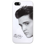 Elvis Black and White Stare iPhone 5 Case