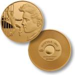 Elvis Jailhouse Rock 1957 MerlinGold Coin