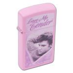 Elvis Love Me Tender Pink Zippo
