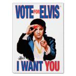 Elvis Vote Magnet