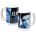 2013 Elvis Lives White Mug
