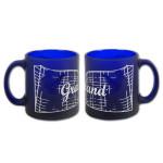 Graceland Gates Frosted Cobalt Mug