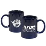 Elvis Presley Airlines 11oz Blue Mug