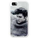 Elvis Blue Sweater iPhone5 Lowell Hays White Case