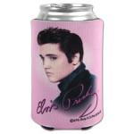 Elvis Pink Foil Can Koozie
