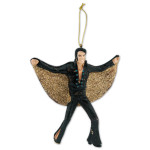Elvis Black Jumpsuit Ornament