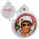 Elvis Santa Shatterproof Ornament