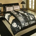 Elvis Presley Guitars Queen Size Comforter Set