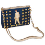 Elvis Gold Lame Studded 4 in 1 Purse