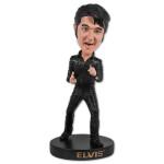 Elvis Black Leather 68 Comeback Special Bobble Figurine