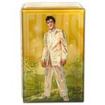 Elvis Gold Glass Music Box