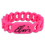 Elvis Signature Pink Link Band