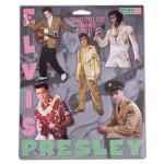 Elvis The Performer Set of 5 Magnets