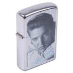 Elvis Presley - Zippo Lighter - Street Chrome
