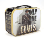 Elvis - Only One Elvis Tin Tote