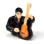 Elvis Playing Guitar Ceramic Salt & Pepper Shakers