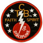 Elvis TCB Faith Spirit Patch