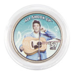 "Elvis Presley ""All Shook Up"" Colorized State Quarter Coin"