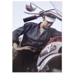 Elvis Presley Motorcycle Poster