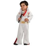 Elvis Infant White Jumpsuit