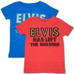 Elvis Has Left the Building Toddler T-Shirt