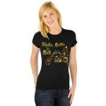 Elvis Shake, Rattle & Roll Womens T-Shirt