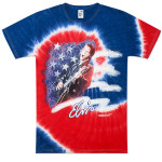 Elvis Americana Tie Dye T-Shirt