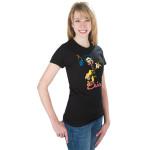 Elvis Blue Mic Women's T-Shirt