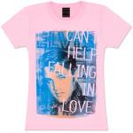 Elvis Falling in Love Ladies T-Shirt