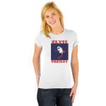 Elvis American Square Ladies T-Shirt