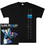 Elvis 35th Anniversary Triangle T-Shirt