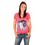 Elvis 35th Anniversary Ladies V-Neck Sequin T-Shirt