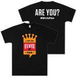 Hawaiian Style I Am An Elvis Fan T-Shirt
