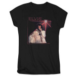Elvis Jumpsuit Spotlight Ladies T-Shirt