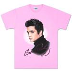 Elvis Pink Foil T-shirt