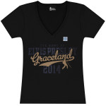 2014 Graceland Ladies V-neck T-Shirt