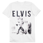 Elvis Presley - With the Band Tee