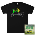 Cas Haley 'La Si Dah' CD + Men's T-Shirt Bundle