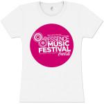 Women's Pink Bubble Logo Tee