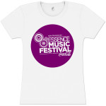 Women's Purple Bubble Logo Tee