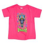 Bonnaroo 2014 Flying Robot Toddler Tee - Pink