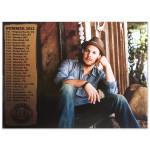 Gavin DeGraw - Summer 2013 Tour Dates Photo Poster