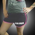 Gavin DeGraw - Sweeter Shorts Asphalt/Fuchsia